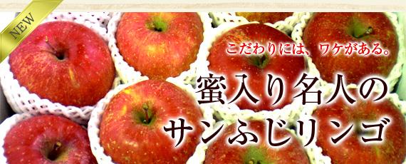 こだわりには、ワケがあります。菱沼農園 蜜入り名人のサンふじリンゴ。