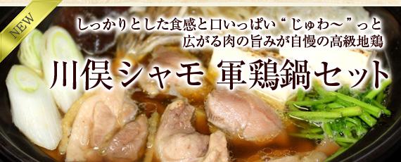 川俣シャモ 軍鶏鍋セット